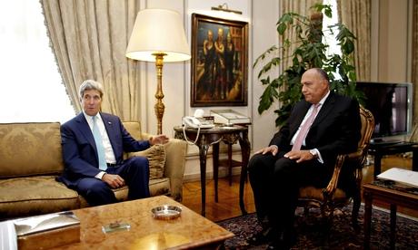 John Kerry, Sameh Shukri