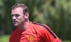 LOS ANGELES, CA - JULY 21:  (EXCLUSIVE COVERAGE) Wayne Rooney of Manchester United in action during a first team training session as part of their pre-season tour of the United States on July 21, 2014 in Los Angeles, California.  (Photo by Matthew Peters/Man Utd via Getty Images) Football Soccer Club Soccer