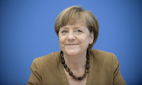 Germany's Angela Merkel