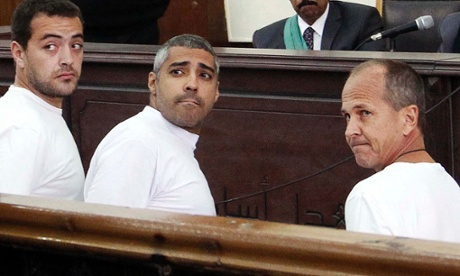 Jailed al-Jazeera journalists guided by devil, says Egyptian court...