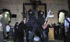 Egypt policeman arms trade