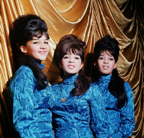 The Ronettes in 1964