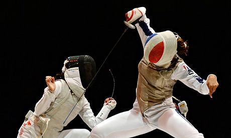 Sport picture of the day: fencing foiled again