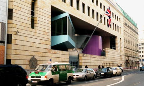 The British embassy in Berlin. If you want to host a business reception there, just give the ambassador a ring.