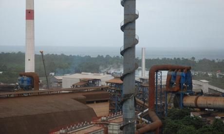 Fenix mine in Guatemala, July 2014