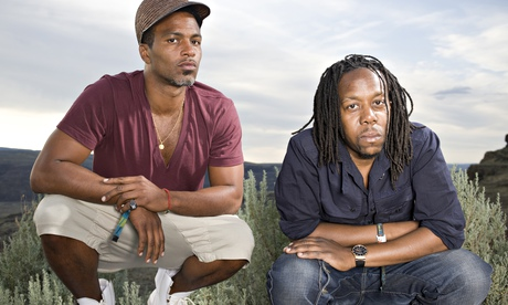 Shabazz Palaces'  Ishmael Butler (left) and Tendai Maraire.