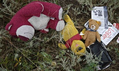 MH17 passengers' belongings