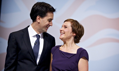 Justine Thornton and Ed Miliband