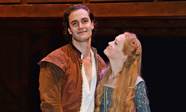 """a review of shakespeare in love Lee hall's """" shakespeare in love,"""" concocted by disney theatrical productions,  opened in london in 2014 and is being performed on 15."""