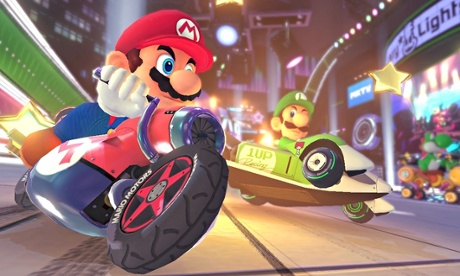 Nintendo's star gets wheels in Mario Kart 8.