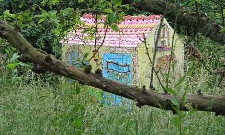 Home sweet home: how to make a lifesize Hansel and Gretel house