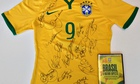 Win a shirt signed by the 2014 Brazil World Cup team