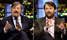 An 'audience with' David Mitchell or Stephen Fry? I'd rather have more gags