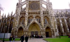 The exterior of Westminster Abbey