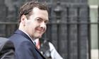 George Osborne arrive at 10 Downing Street.