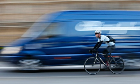 What does the law say about speeding on a bike? Photograph: Stefan Wermuth/Reuters