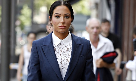Tulisa Contostavlos convicted of assaulting celebrity blogger