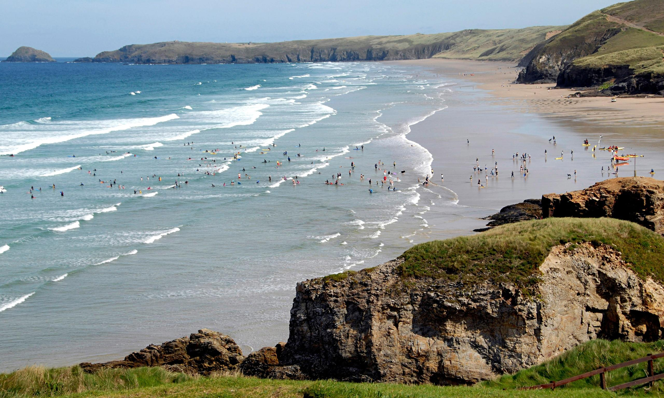 Sea off Cornwall and Devon reaches record-breaking temperatures