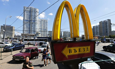 McDonald's declared unsanitary and unhealthy by Russian food standards