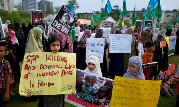 Gaza Violence Sparks Global Protests In Pictures World