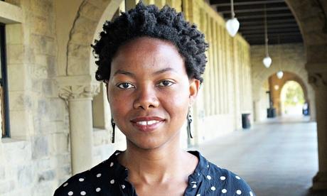 'Dazzling': 2013 Booker contender NoViolet Bulawayo. Photograph: Krystal Griffiths