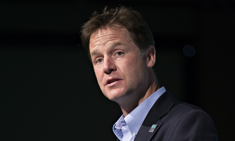 Nick Clegg believes it would be 'unthinkable' for the World Cup 2018 tournament to go ahead in Russia. Photograph: Oli Scarff/Getty Images