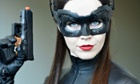 Comic-Con attendee Genevieve Nylen dressed as Catwoman on the third day of the 45th annual Comic-Con