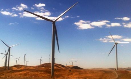 Wind farm - renewable energy