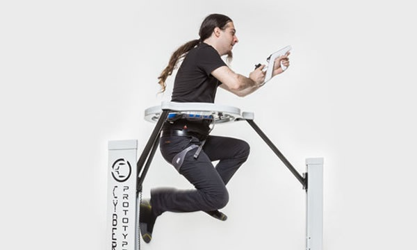 Full Body Joystick Lets You Run And Jump In Virtual