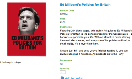 Ed Miliband's policies