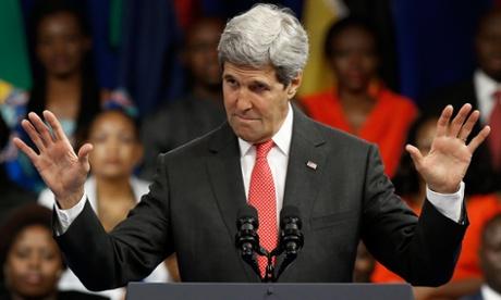 Segretario di stato John Kerry negli USA