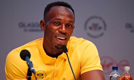 Usain Bolt at the Commonwealth Games