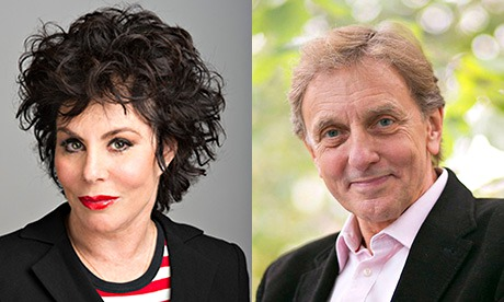 Ruby Wax and Colin Blakemore