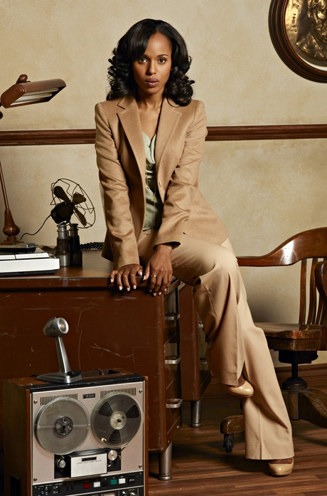 Kerry Washington as Olivia Pope in Scandal.