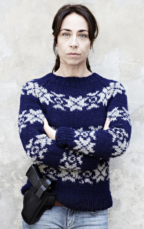 Sofie Grabol as Sarah Lund in The Killing