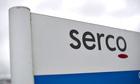 Serco sign