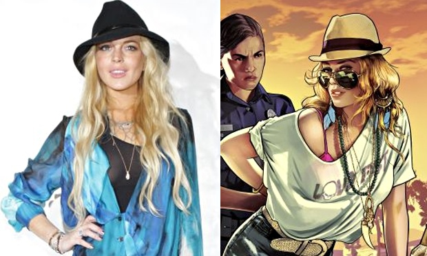 Lindsay Lohan Sues Over Grand Theft Auto V Character