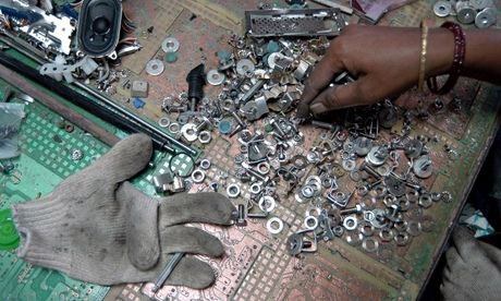 E-waste recycling in India