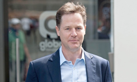 Nick Clegg spoke out on his weekly LBC phone-in