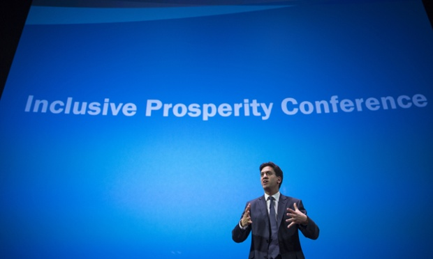Ed Miliband speaking at the Inclusive Prosperity conference