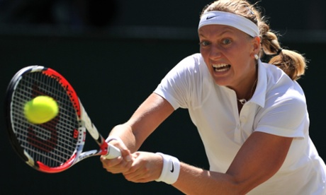Petra Kvitova fires back.