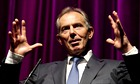 Tony Blair speaking in London, 2012