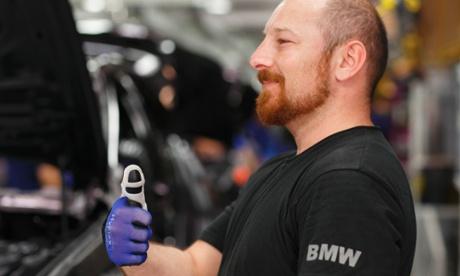 BMW 3D printed thumb