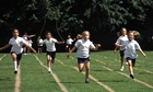skipping race on sport's day
