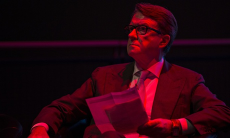 Peter Mandelson at the Science Museum