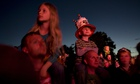 Music Festivals - Kids on shoulders during gig