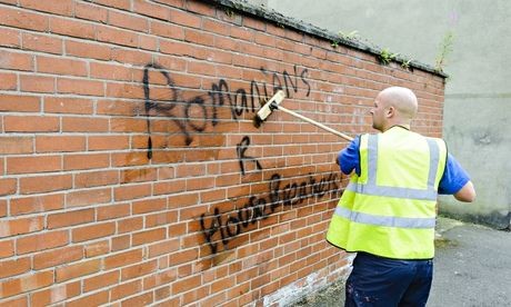 Sectarian graffiti daubed on Catholic church in Northern Ireland...
