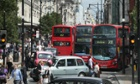 Researchers from King's College London found that concentrations of nitrogen dioxide in Oxford Street are the worst on earth.