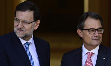 Mariano Rajoy and Artur Mas