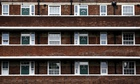 Block of flats in London